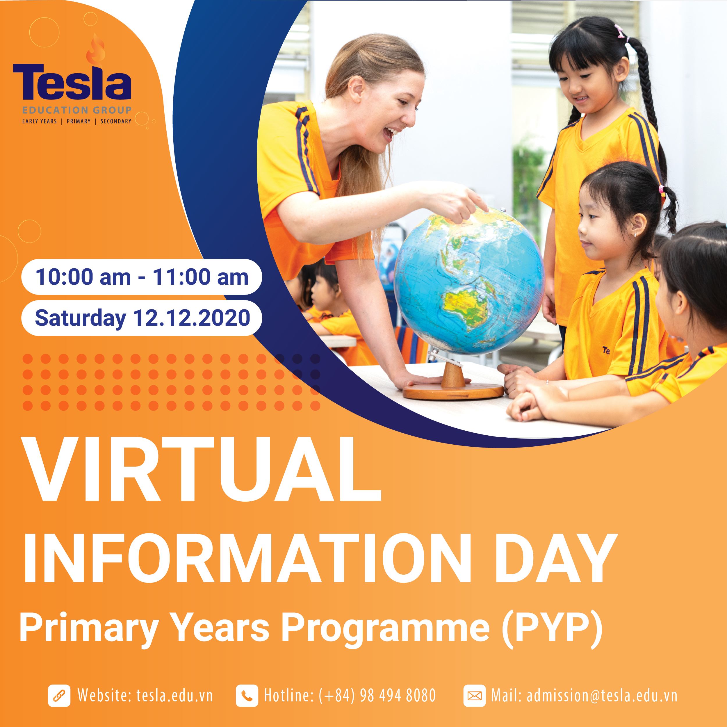 Virtual Information Day – Primary Years Programme
