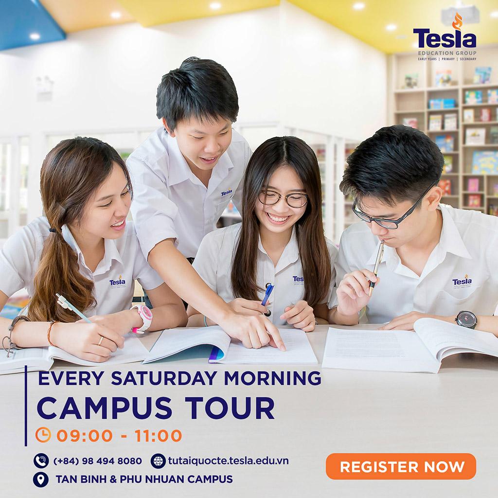 Tesla Campus Tour – Every Saturday Morning