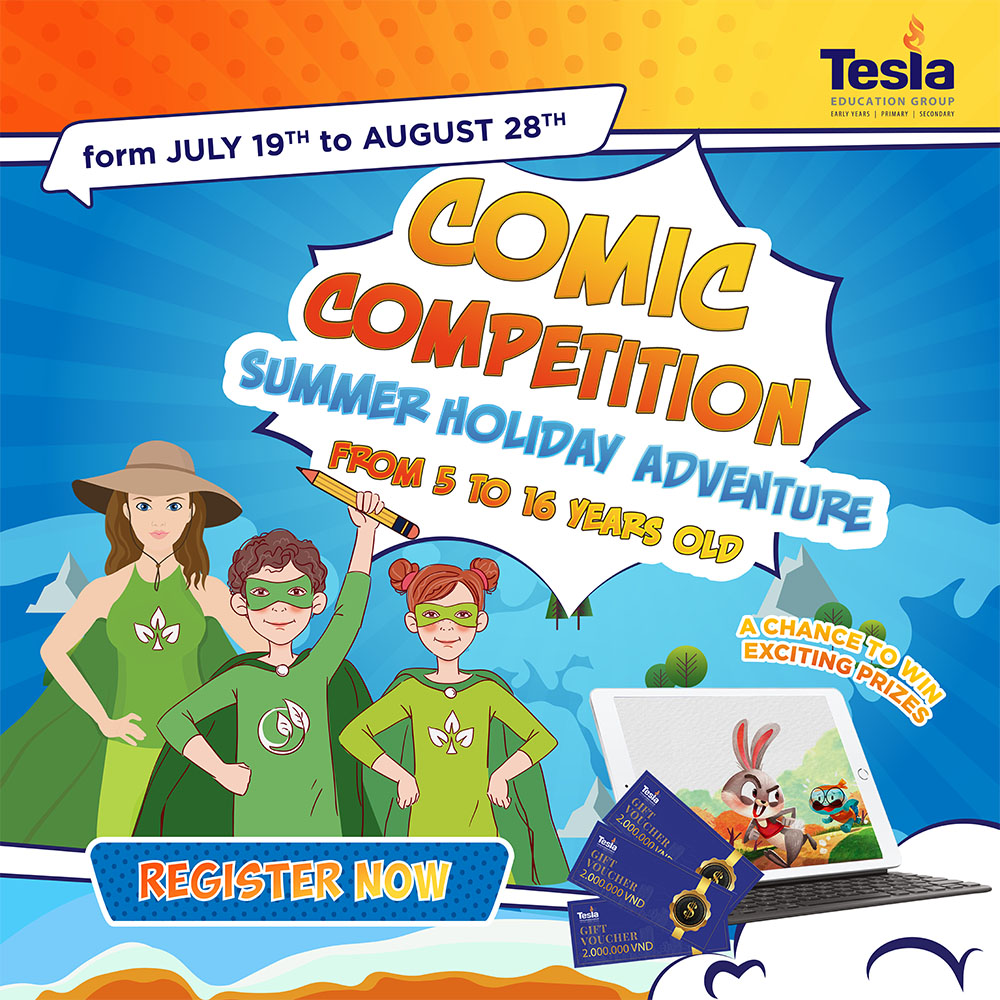 """Comic Competition """"Summer Holiday Adventure"""""""