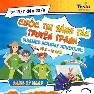 """Cuộc thi sáng tác truyện tranh """"Summer Holiday Adventure"""""""