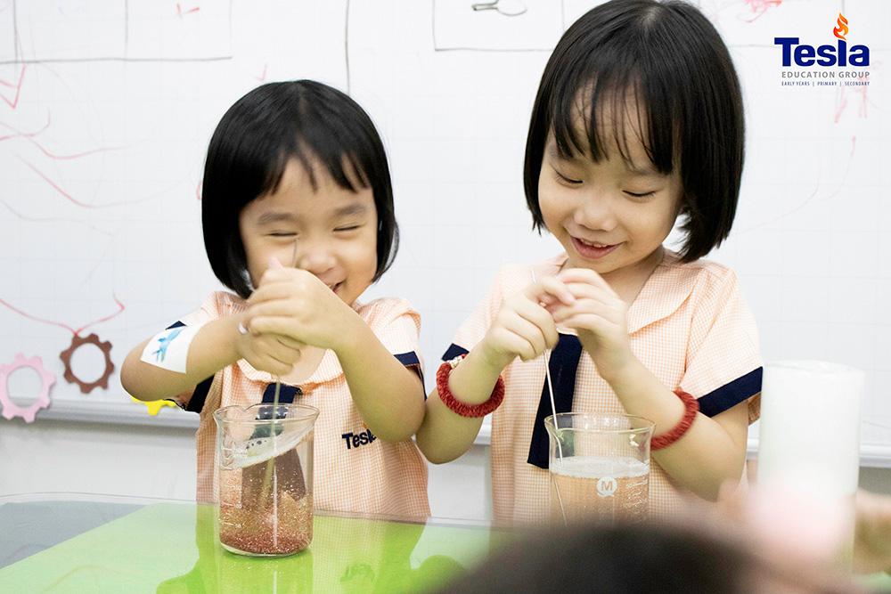 """""""Học theo dự án"""" và sự phát triển vượt bậc ở trẻ Mầm non"""
