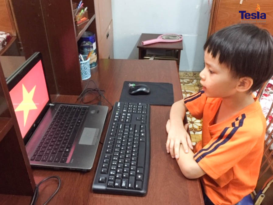 Electrical safety for children when learning online